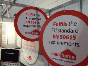 Stove Guard Fulfils EU standard